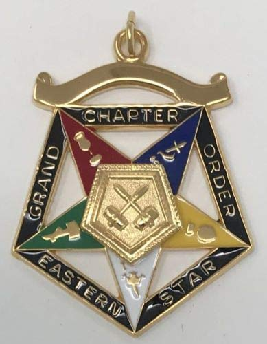 - Order of Eastern Star Grand Past Matron Officer Jewel
