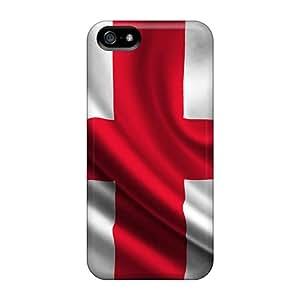 Cute Appearance Cover/tpu WEk7725Ourh Geoargia Case For Iphone 5/5s