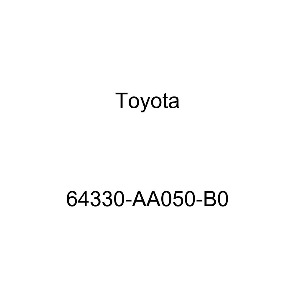 TOYOTA Genuine 64330-AA050-B0 Package Tray Trim Panel Assembly