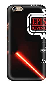 New Design Shatterproof AAGYiDz9007YCOEP Case For Iphone 6 (star Wars Revenge Of The Sith Starwars Anime Other)