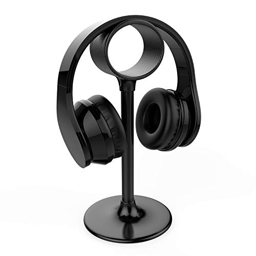 Dapai Headphone Stand Holder, Gaming Headset Stand Hanger with Special Mouse Line Hole for Office, Gaming and DJ, Suitable for All Headphones