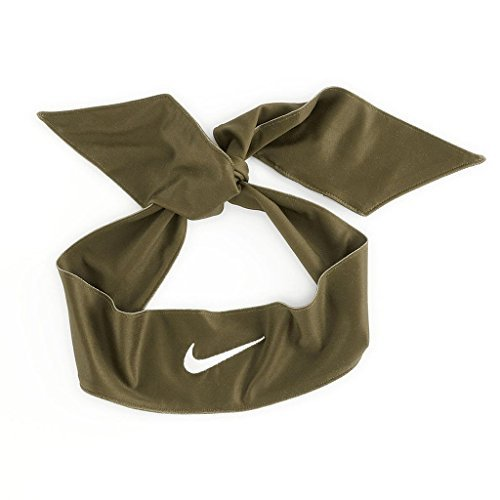 Nike Dri-Fit Head Tie 2.0 (Olive/White)