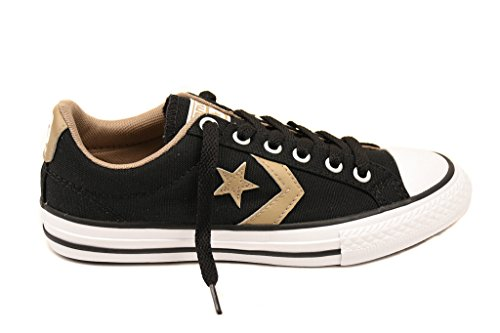 Converse Junior Star Player 651840C Sneakers Black/Sandy UK 1