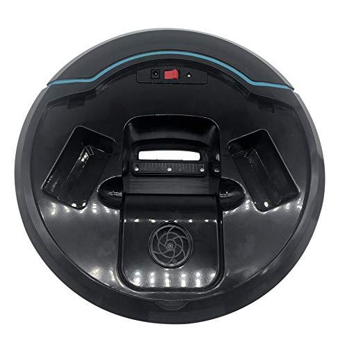 Candybush Robot de Limpieza automático Recargable Robot de Barrido Inteligente automático Aspiradora del Piso del Polvo del Polvo Limpiador del Cabello ...