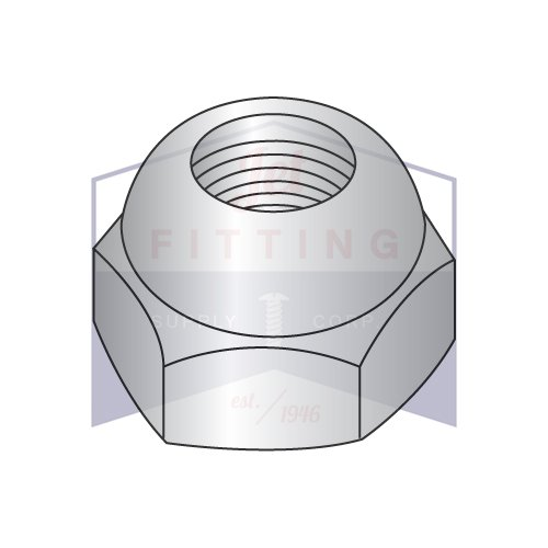 1/4-20X7/16 Open End Acorn Nuts | Low Crown | Steel | Nickel Plated (QUANTITY: 6000) by Jet Fitting & Supply Corp