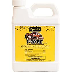 Pyranha 001PX110 068220 1-10 Px Concentrate Livestock Insecticide