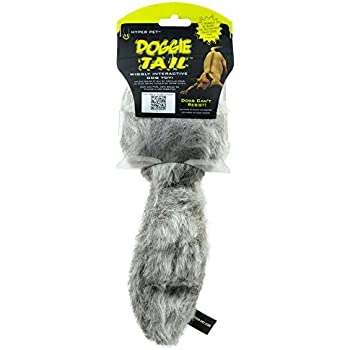 Amazon.com : Hyper Pet Doggie Tail Plush Interactive Dog