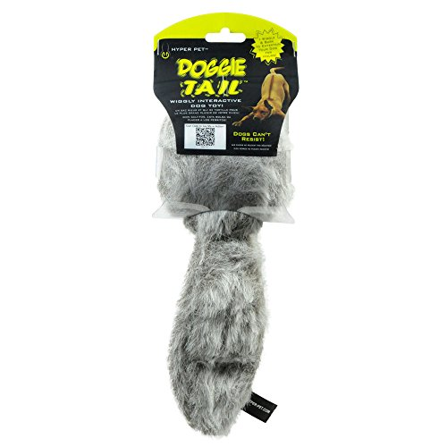 Hyper Pet Doggie Tail Plush Interactive Dog Toy
