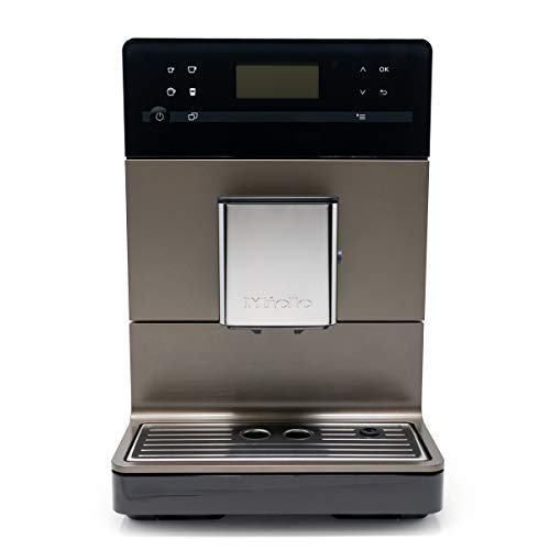 Miele CM5300 10-Cup Super-Automatic One-Touch Countertop Coffee/Espresso Machine (Bronze)