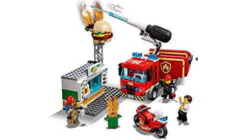 Lego City Burger Bar Fire Rescue 60214 Building Toy Amazoncomau