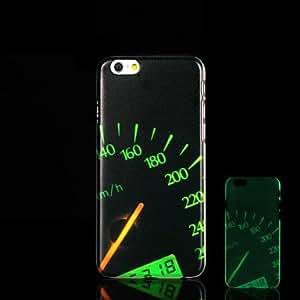 ZMY Cubierta Posterior - Gráfico/Innovador/Brillo en la Oscuridad - para iPhone 6 Plástico )
