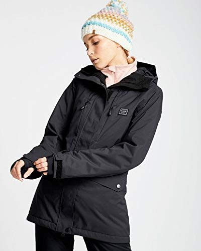 Billabong Women's Sula Solid Insulated Jacket, Black, ()