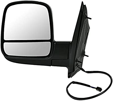 NEW Mirror EXPRESS SAVANA Driver Left Side POWER-HEATED