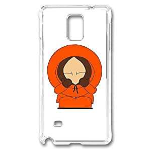 Samsung Galaxy Note 4 Case, Note 4 Case - New Release Clear Case Cover for Galaxy Note 4 Case South Park Action Poses Kenny Ultra Slim Crystal Clear Hard Case for Samsung Galaxy Note 4