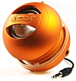 X-Mini II XAM4-OR Portable Capsule Speaker, Mono, Orange