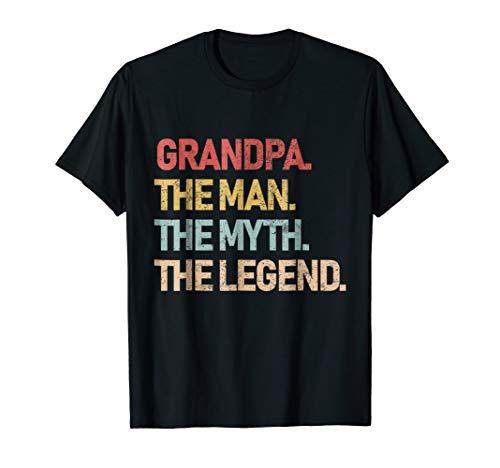 Grandpa The Man The Myth The Legend Shirt for -