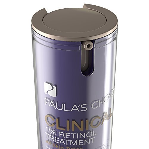 Paula's Choice CLINICAL 1% Retinol Treatment with Peptides & Vitamin C, 1 Ounce Can Facial Treatment for Deep Wrinkles, Normal-Oily Skin by Paula's Choice (Image #1)