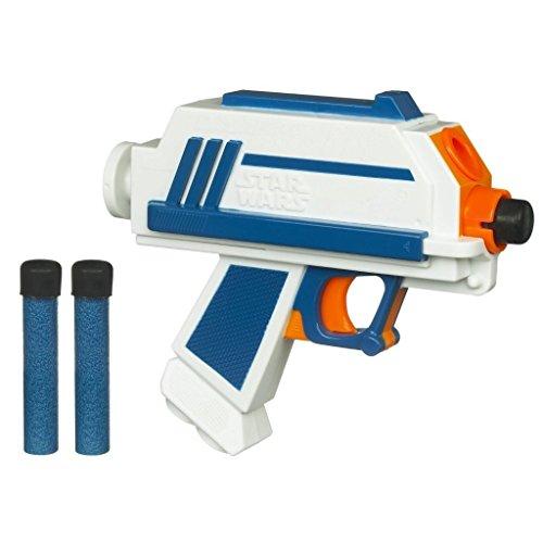 Nerf Toy Gun STAR WARS The Clone Wars Captain Rex Blaster Pistol Soft Dart - Star Wars Toys Nerf