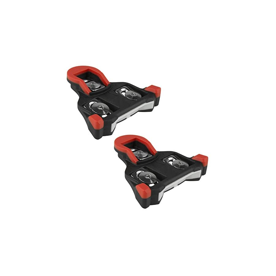 BV Bike Cleats Compatible with Shimano SPD SL Road Cycling Cleat Set, Split Patent Design