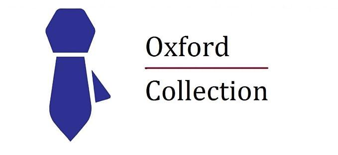 Oxford Collection Corbata de hombre Rojo Burdeos Delgada - 100 ...