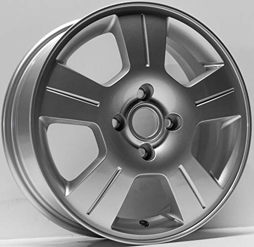Partsynergy Replacement For New Replica Aluminum Alloy Wheel Rim 16 Inch Fits 2003-2007 Ford Focus 4-108mm 5 - 5 Alloy 16x6 Spoke