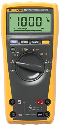 Fluke 179 ESFP True RMS Multimeter with Backlight and Temp from Fluke