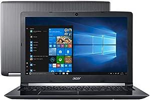 "Notebook Acer Aspire 5, A515-51-51UX, Intel core i5 7200U, 8GB RAM, HD 1TB 32, 32, tela 15,6"", Windows 10"