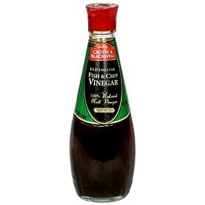 Crosse & Blackwell Vinegar, Fish & Chips, 8.45-Ounce (Pack of 6)