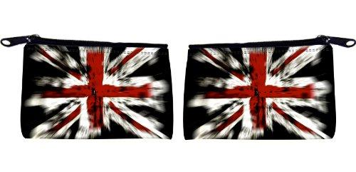 Rikki KnightTM British Flag Design Scuba Foam Coin Purse