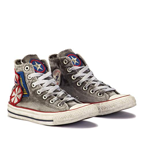 Top Baskets Canvas Gris 41 Star High Chuck Taylor Converse Femme Gris All xwq8OPnY