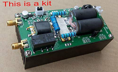 FidgetFidget 2018 DIY Kits 100W SSB Linear HF Power Amplifier for YAESU FT-817 818 kx3 IC-70