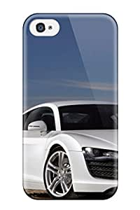 Fashion Tpu Case For Iphone 4/4s- Audi R8 Car Defender Case Cover