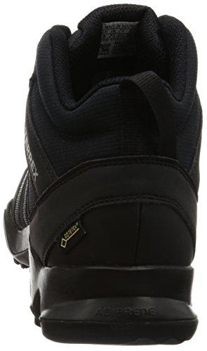 adidas Herren Terrex AX2R Mid GTX Wanderstiefel, Schwarz (Negbas/Negbas/Grivis), 48 EU