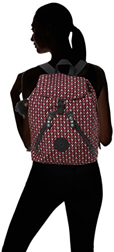 Kipling Chevron Backpack Fundamental Women's Women's Kipling Multicolour Pink RIqTR0rwx