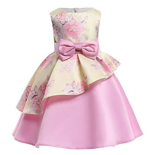 Kids Dresses for Girls Baby Stripe Tutu Dress Princess Party Dress Girls for 2-10 Year Girls Dress,As Picture5,4T