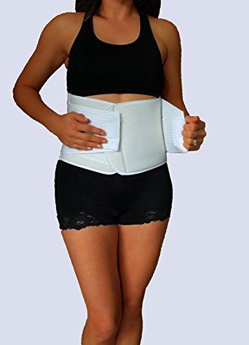 X-Large Postpartum Belly Compression Wrap - Waist Trainer...