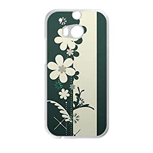Personalized Creative Cell Phone Case For HTC M8,cartoon flower graffiti