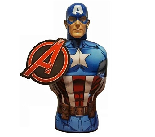Avengers - Marvel Gel de ducha Capitán América - 350 ml Universal Beauty Market MC3251
