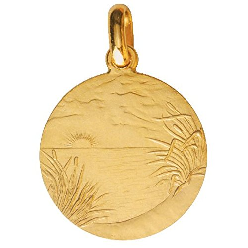 Monnaie de Paris - Collection BAPTEME -  Pendentif seul (sans chaîne) -  Or jaune 18 cts -  10010400320A00