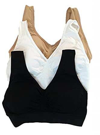 Genie Bra 3 in Set Summer Pack w/ Removable Pad
