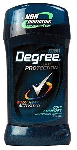 Comfort Antiperspirant Deodorant - Degree Men Anti-Perspirant & Deodorant, Cool Comfort 2.7 Ounce (Pack of 3) packaging may vary