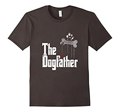 Mens The Dogfather Shirt Dad Dog T-shirt | Funny Father's Day Tee
