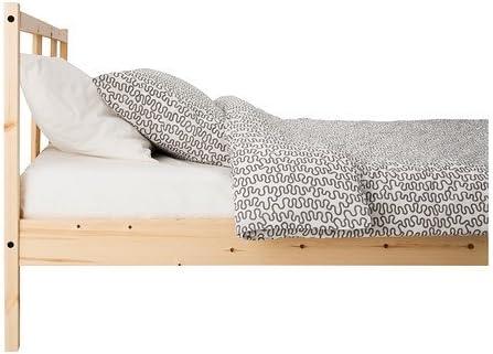 IKEA FJELLSE - Estructura de cama, pino, Lade - 140x200 cm ...