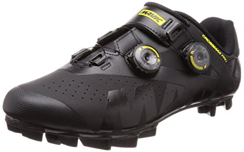 Para De Hombre Piel Negro Zapatillas Mavic Ciclismo w6xZCI55q
