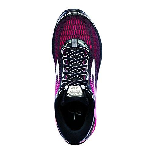 Noir Chaussures Rouge 10 Running de Femme Jaune Brooks Ghost fqYzxO