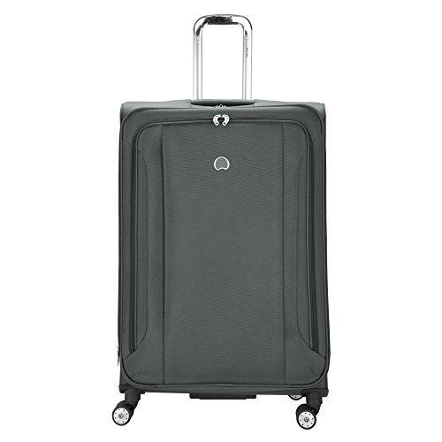 Delsey Luggage Aero Soft 29 inch Spinner Check in, Platinum