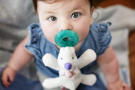 WubbaNub Infant Pacifier - Baby Unicorn by WubbaNub (Image #4)