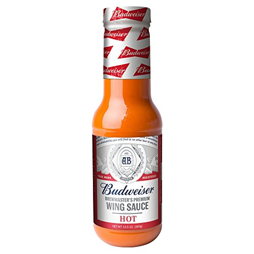 Budweiser Hot Spicy Wing Sauce(Pack of 3)