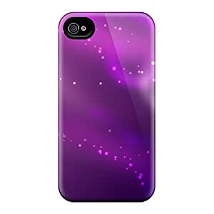 New Premium Flip Cases Covers Violet Purple Skin Cases For Iphone 6plus