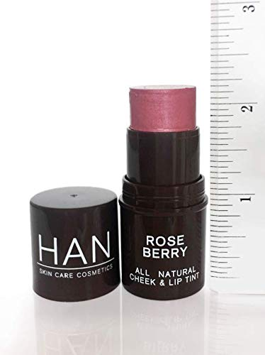 HAN Skin Care Cosmetics Natural Cheek and Lip Tint, Rose Berry by HAN (Image #6)